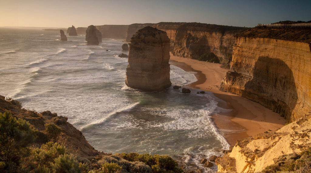 Rocky formation of the Twelve Apostles