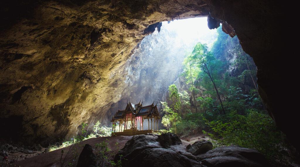 Royal Pavilion Kuha Karuhas in the Phraya Nakhon Cave