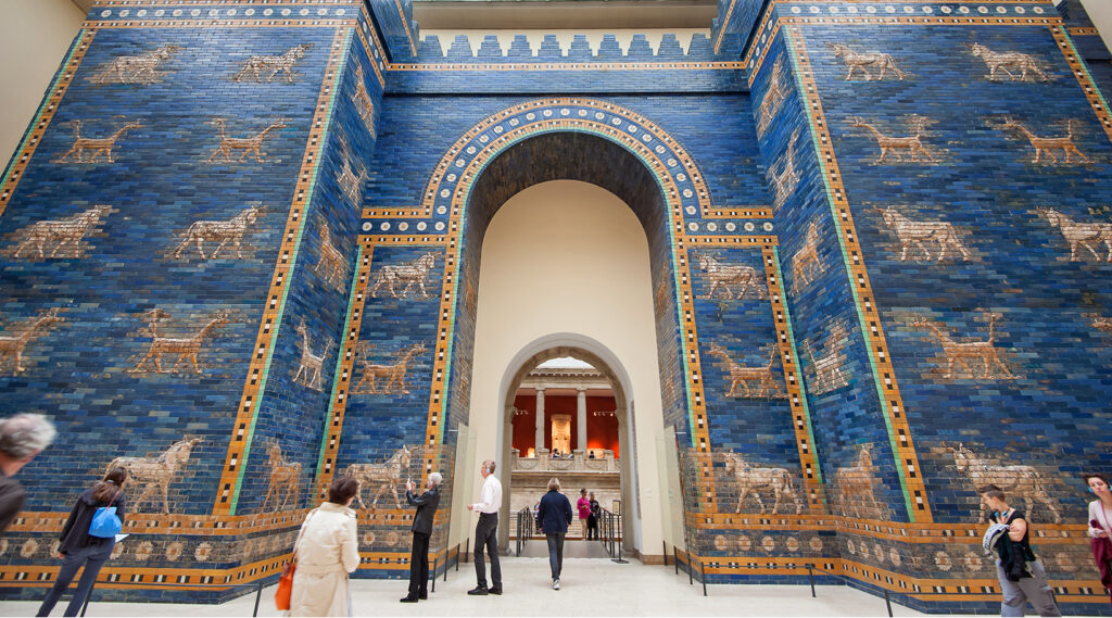 Interior of the Pergamon Museum