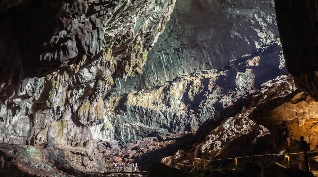 Limestone cave in Gunung Mulu National Park